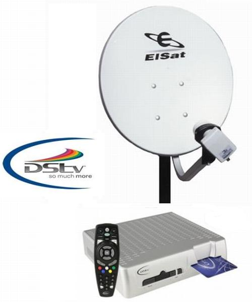 how to connect dstv explora to communal dish