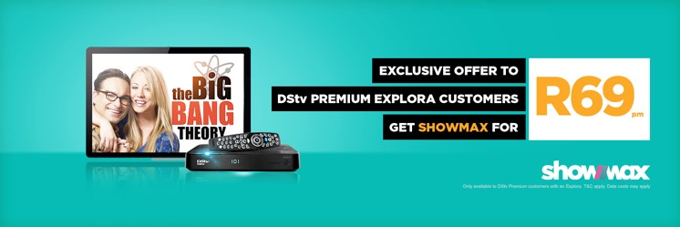 SHOWMAX now R69 pm Premium subscribers