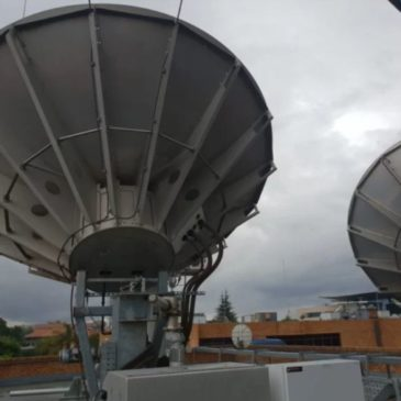 The huge satellite dishes and control room which run DStv – Photos